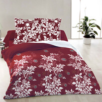 Bavlněné povlečení Molly červená, 140 x 200 cm, 70 x 90 cm