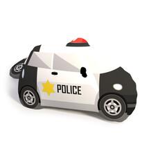 Tvarovaný 3D vankúšik Polícia