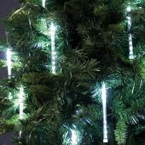 Svetelná reťaz Padajúce kvapky, 100 LED