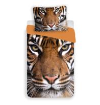 Lenjerie bumbac Tigru 2017, 140 x 200 cm, 70 x 90 cm
