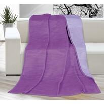 Deka Kira fialová/světle fialová, 150 x 200 cm