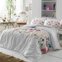 Bavlnené obliečky Nergiz Pink, 140 x 200 cm