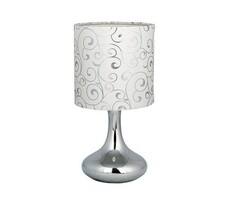 Rabalux Bombai 4240 stolová lampa, biela