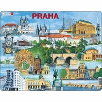 Larsen Puzzle Najciekawsze atrakcje w Pradze, 66 części