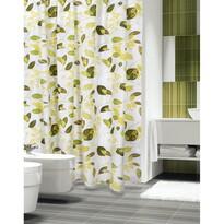 Sprchový záves Rastliny zelená, 180 x 200 cm