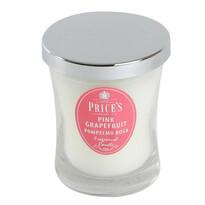 Price´s vonná sviečka v skle ružový grapefruit 9,5 cm