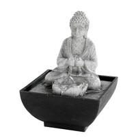 Stolní fontána Modlící se Budha, 18 cm