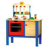 Bino Dětská kuchyňka s příslušušenstvím