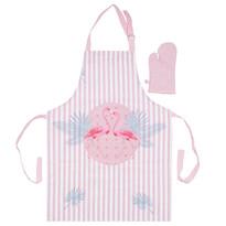 Komplet kuchenny dla dzieci Flaming różowy