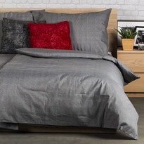 Bavlněné obliečky Guru UNI šedá, 140 x 200 cm, 70 x 90 cm
