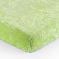Cearşaf Micro-pluş verde, 180 x 200 cm