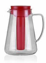 Tescoma TEO džbán s vyluhováním a chlazením červená