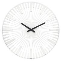 Ceas de perete Koziol Piano, alb, diam. 45 cm