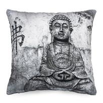 Obliečka na vankúšik Budha, 45 x 45 cm