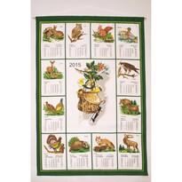 Kalendarz tekstylny 2015 Łowiecki, 45 x 65 cm