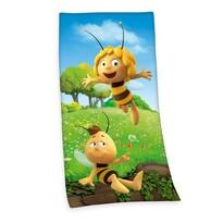 Ręcznik kąpielowy Pszczółka Maja, 75 x 150 cm