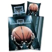 Basketball pamut ágynemű, 140 x 200 cm, 70 x 90 cm