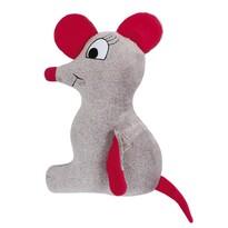 Tvarovaný polštářek Myška, 45 x 30 cm