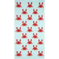 Plážová osuška Crazy Crabs, 70 x 140 cm