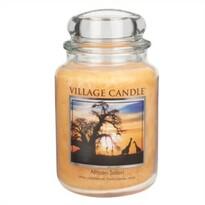 Village Candle Świeczka zapachowa Bursztynowe tony – Amber Woods, 269 g