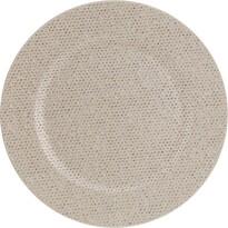 Třpytivý dekorační talíř zlatá, pr. 33 cm