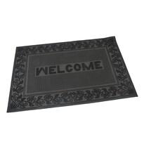 Venkovní rohožka kartáčová Welcome - Leaves, 40 x 60 cm