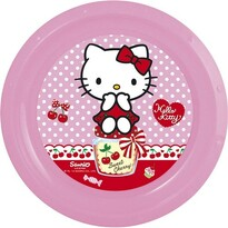 Farfurie din plastic Banquet Hello Kitty, 22 cm