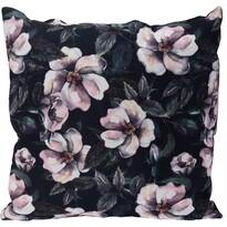 Hibiscus párna black, 45 x 45 cm