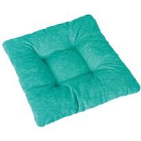 Pernă de scaun Janeta verde, 40 x 40 cm