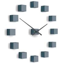 Future Time FT3000GY Cubic grey Designowe zegar samoprzylepny, śr. 50 cm