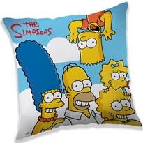 Párna The Simpsons family clouds, 40 x 40 cm