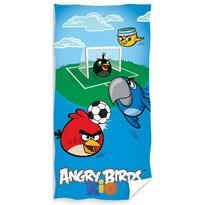 Osuška Angry Birds Fotbal, 70 x 140 cm
