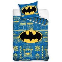 Detské bavlnené obliečky Batman - Wayne Industries, 140 x 200 cm, 70 x 80 cm