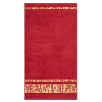 Prosop de corp Bamboo Gold roșu, 70 x 140 cm