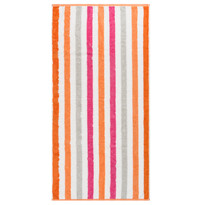Cawo Frottier ręcznik kąpielowy Stripe pink