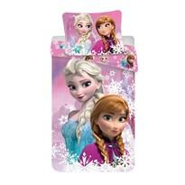 Detské bavlnené obliečky Ľadové kráľovstvo Frozen duo sister, 140 x 200 cm, 70 x 90 cm