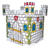 Bino Kartonový domek Hrad