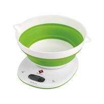 Renberg Digitálna kuchynská váha zelená