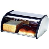 Rozsdamentes acél kenyértartó  43 x 27 cm