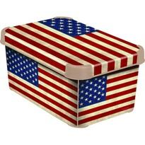 Curver AMERICAN FLAG úložný box dekoratívny malý