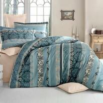 Lenjerie de pat, din bumbac, Delux Jeny, verde