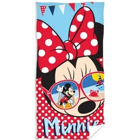 Prosop de corp Minnie Mouse glasses, 70 x 140 cm