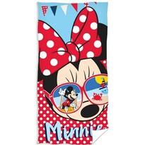 Ręcznik kąpielowy Minnie Mouse glasses, 70 x 140 cm