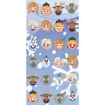 Osuška Emoji Ledové království Frozen, 70 x 140 cm