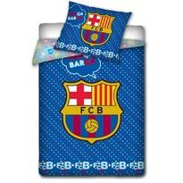Detské bavlnené obliečky do postieľky FC Barcelona, 100 x 130 cm, 40 x 60 cm