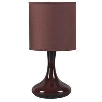 Rabalux 4242 Bombai stolná lampa, hnedá