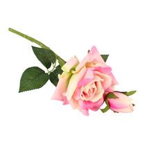 Rózsa bimbóval  művirág