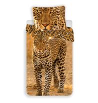 Leopárd 2017 pamut ágyneműhuzat, 140 x 200 cm, 70 x 90 cm