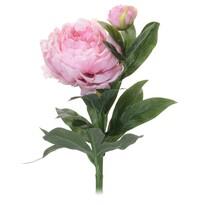 Umělá květina Pivoňka světle růžová, 61 cm