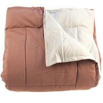Koc camping Elle brązowy, 150 x 200 cm